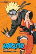 Naruto 3 in 1 Edition Manga Volume 10