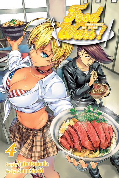 Food Wars! Manga Volume 4