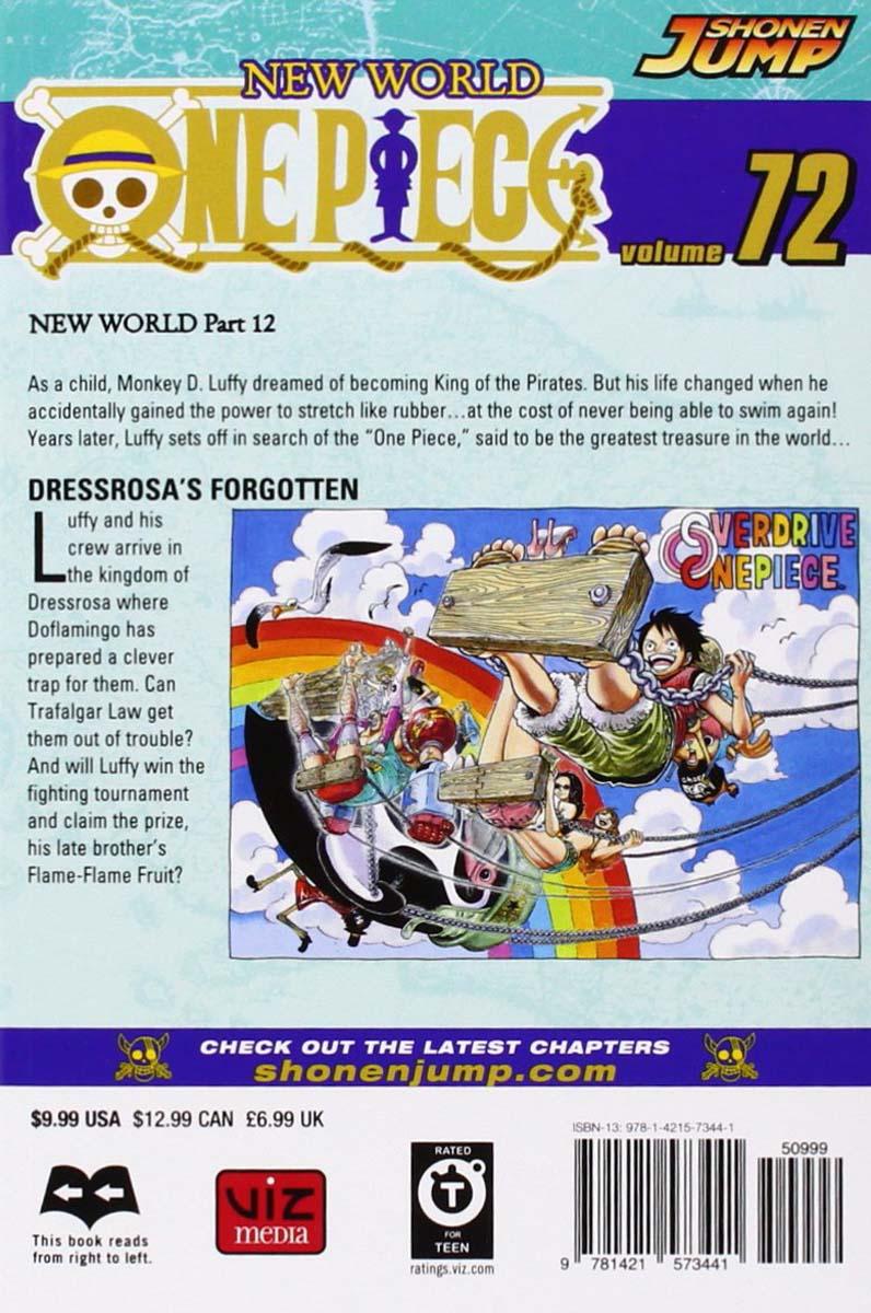 One Piece Manga Volume 72