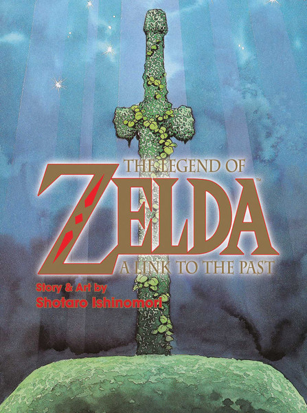 Legend of Zelda A Link to the Past Manga (Color)