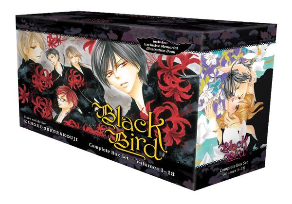 Black Bird Manga Box Set (1-18)