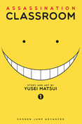 Assassination Classroom Manga Volume 1