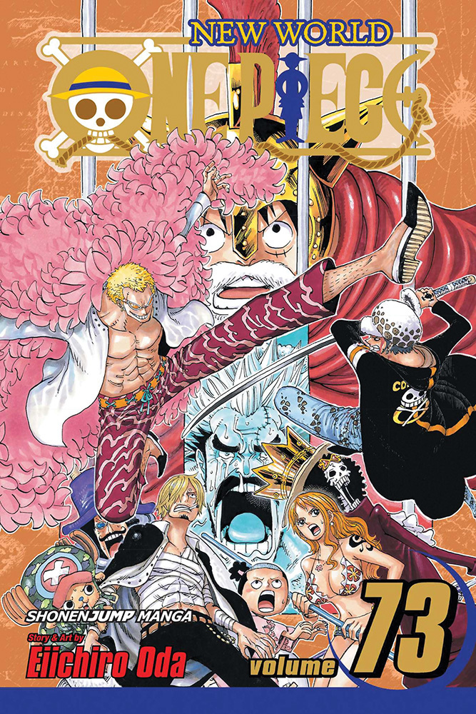 One Piece Manga Volume 73