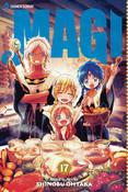 Magi Manga Volume 17