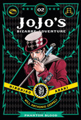 JoJo's Bizarre Adventure Part 1 Phantom Blood Manga Volume 2 (Hardcover)