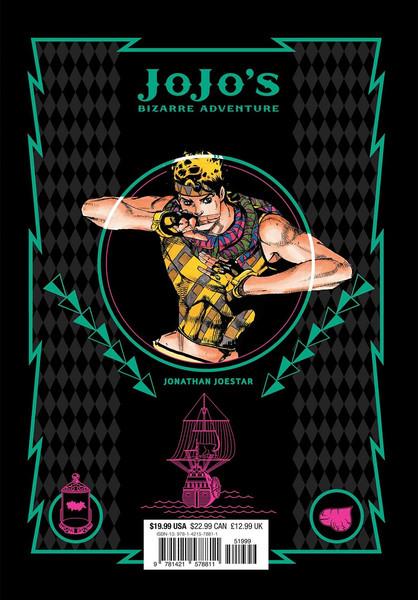 JoJo's Bizarre Adventure Part 1 Phantom Blood Manga Volume 3 (Hardcover)