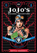 JoJo's Bizarre Adventure Part 2 Battle Tendency Manga Volume 1 (Hardcover)