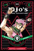 JoJo's Bizarre Adventure Part 2 Battle Tendency Manga Volume 3 (Hardcover)