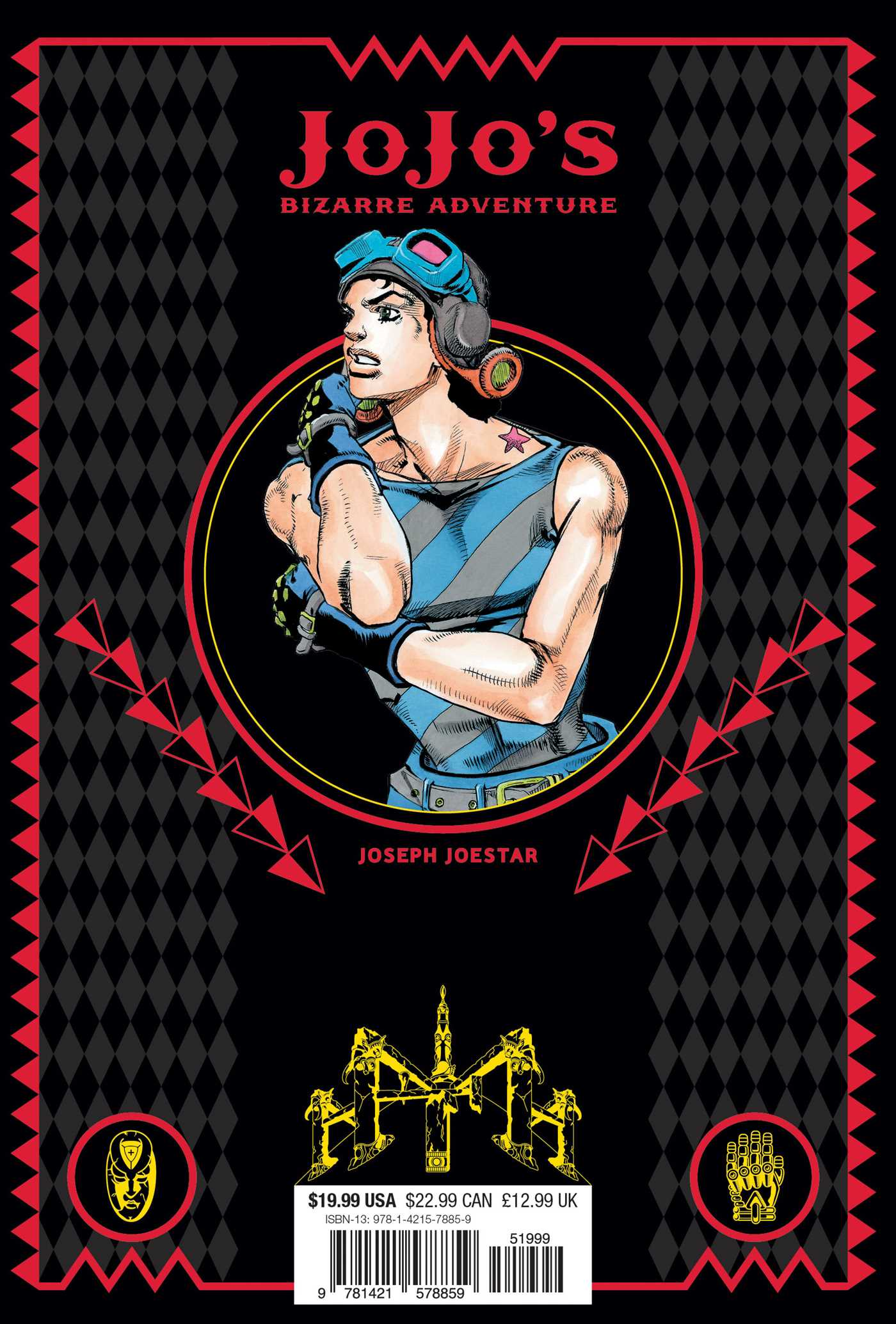 JoJo's Bizarre Adventure Part 2 Battle Tendency Manga Volume 4 (Hardcover)