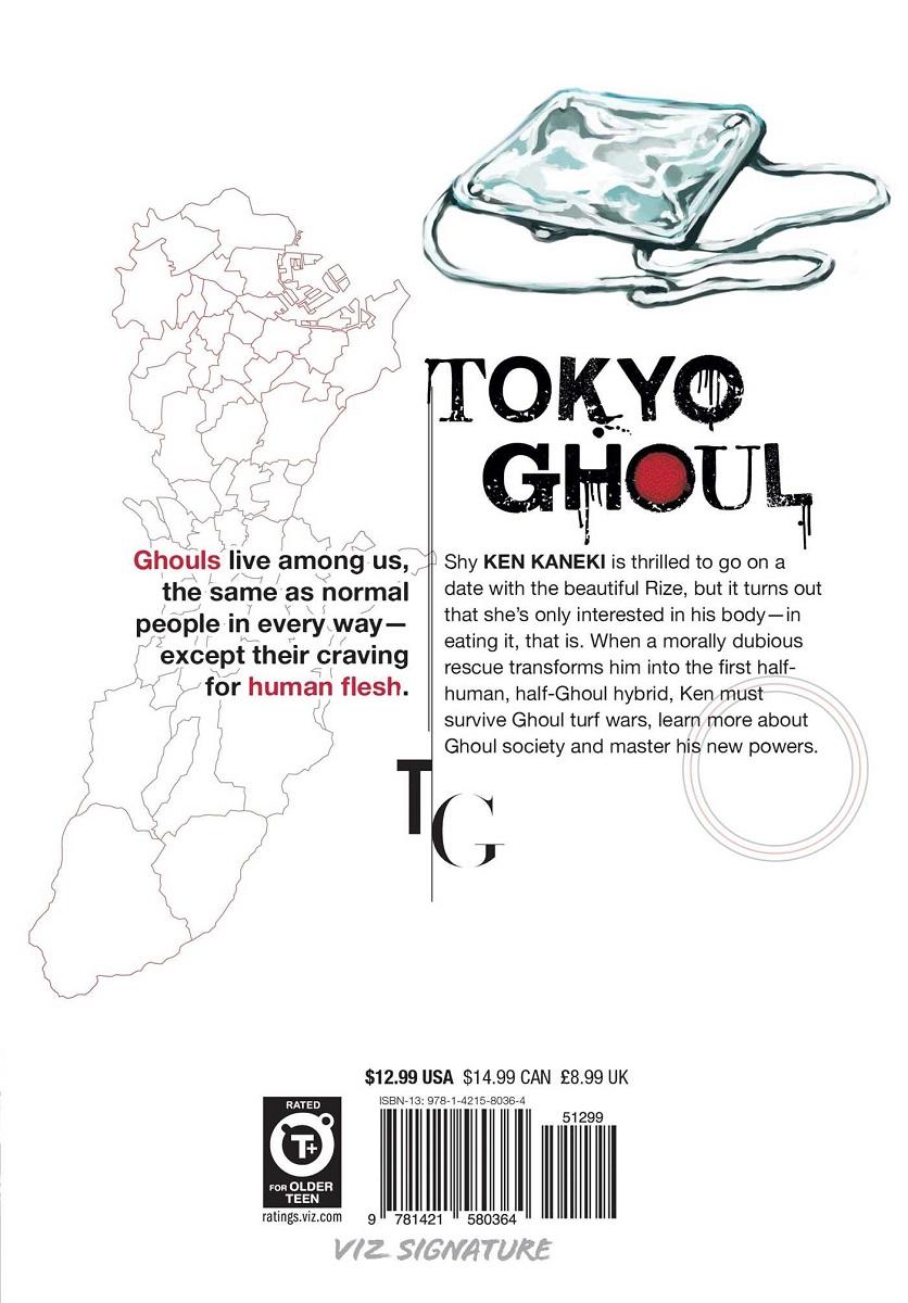 Tokyo Ghoul Manga Volume 1
