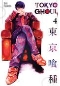 Tokyo Ghoul Manga Volume 4