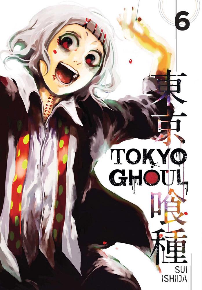 Tokyo Ghoul Manga Volume 6