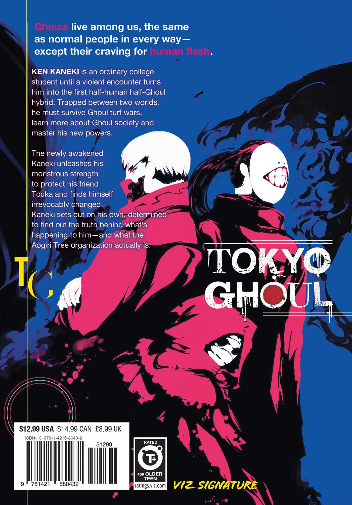Tokyo Ghoul Volume 1 Epub Bud