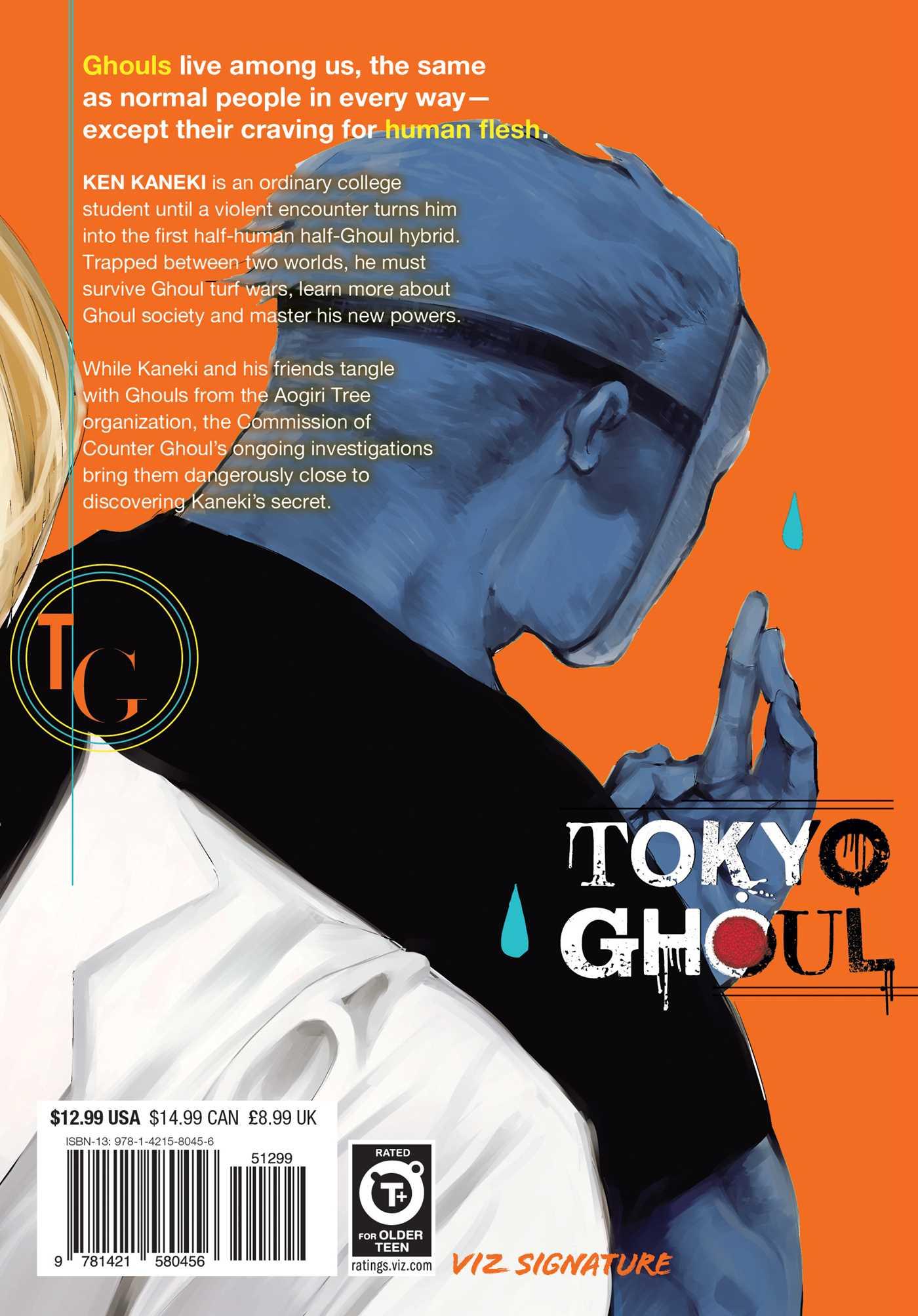 Tokyo Ghoul Manga Volume 10