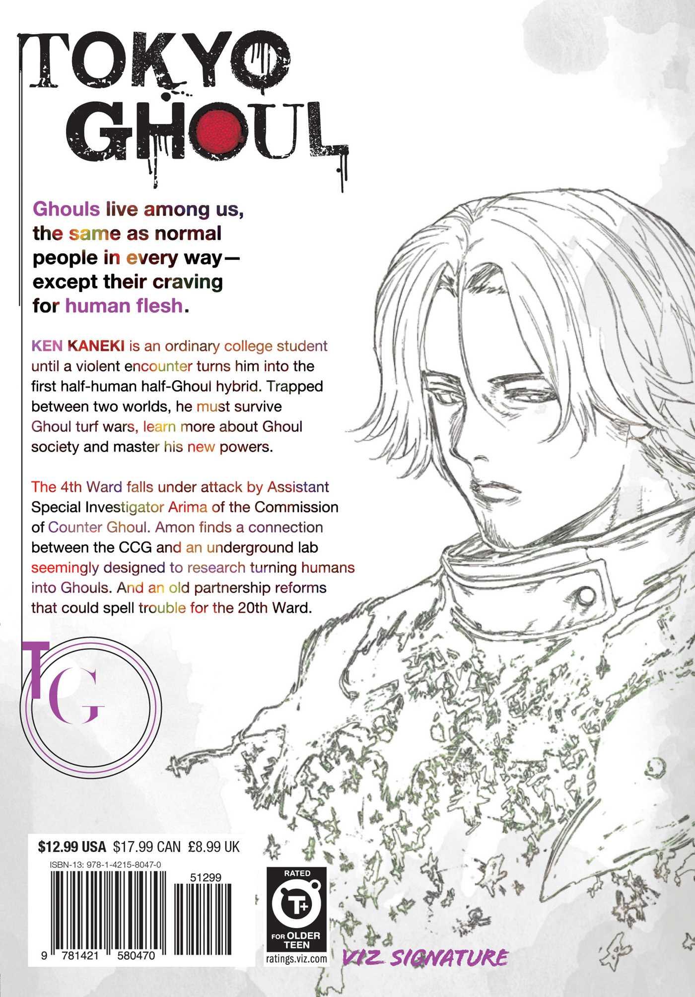 Tokyo Ghoul Manga Volume 12