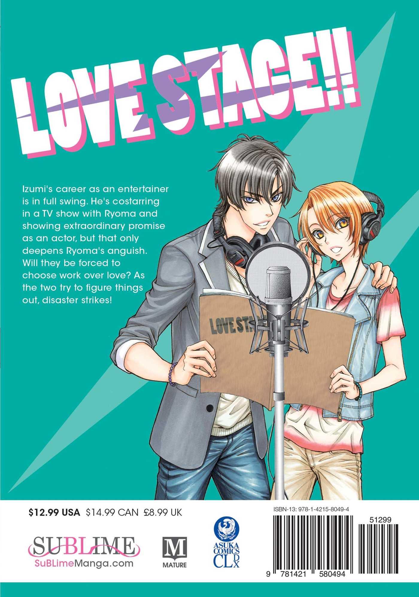 love stage manga
