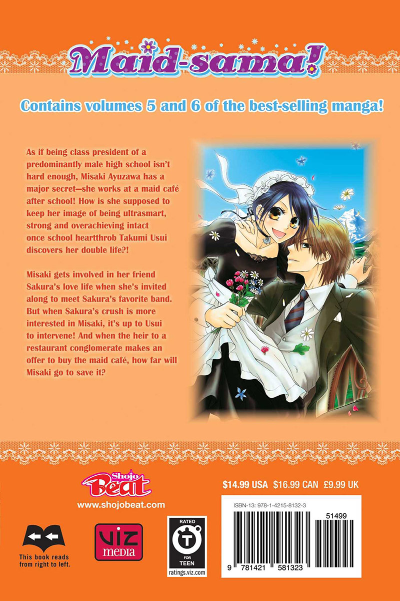 Maid-sama! 2 in 1 Edition Manga Volume 3