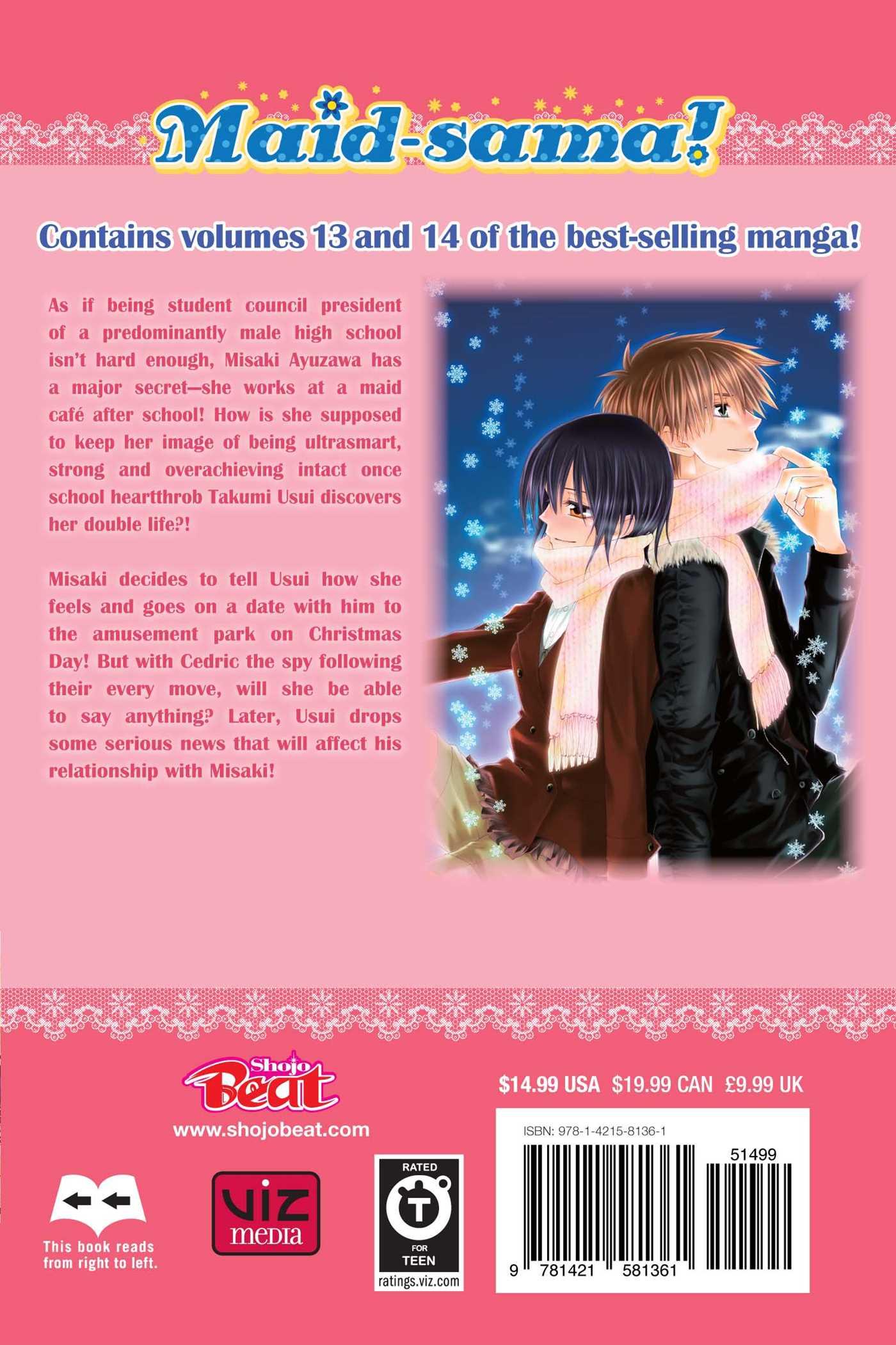 Maid-sama! 2 in 1 Edition Manga Volume 7