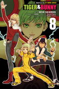 Tiger & Bunny Manga Volume 8