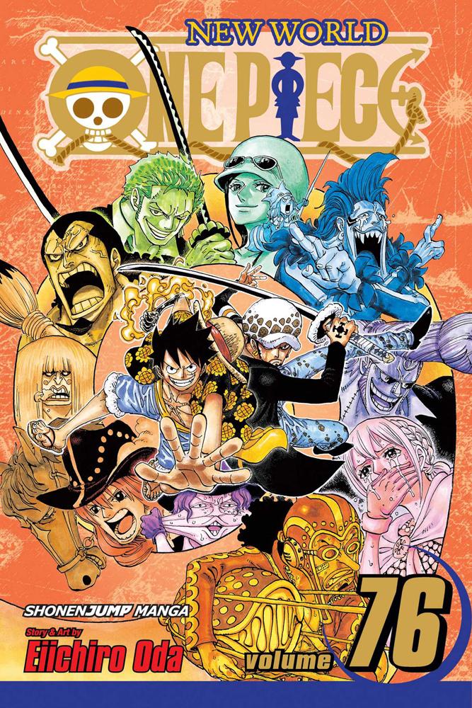 One Piece Manga Volume 76