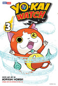 Yo-kai Watch Manga Volume 3