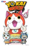 Yo-kai Watch Manga Volume 4