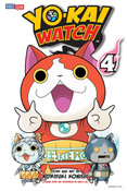 Yo-kai Watch Manga Volume 4