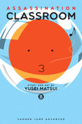 Assassination Classroom Manga Volume 8