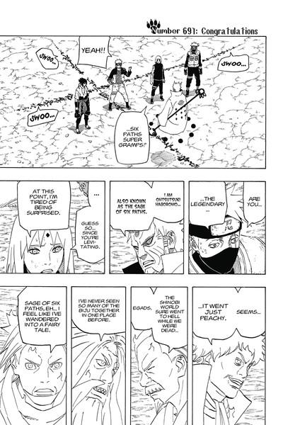 Naruto Manga Volume 72