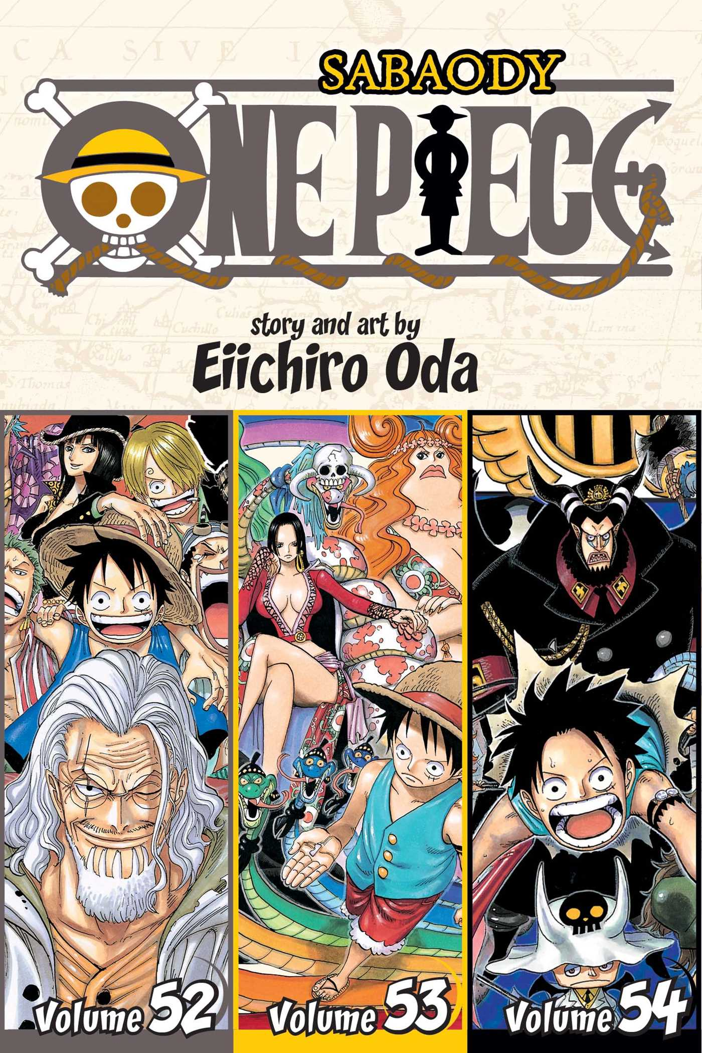 One Piece Omnibus Edition Manga Volume 18