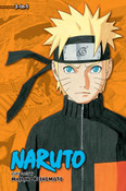 Naruto 3 in 1 Edition Manga Volume 15
