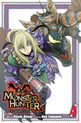 Monster Hunter Flash Hunter Manga Volume 4