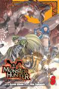 Monster Hunter Flash Hunter Manga Volume 8