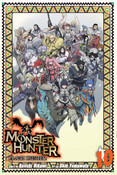 Monster Hunter Flash Hunter Manga Volume 10