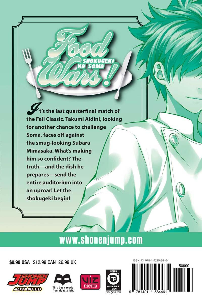 Food Wars! Manga Volume 10