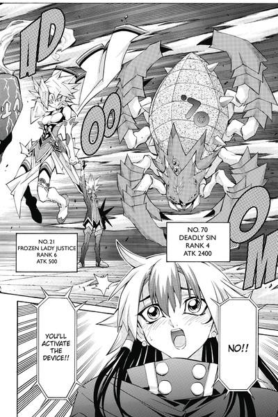 yugioh zexal manga volume 8