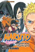 Naruto The Seventh Hokage and the Scarlet Spring Manga