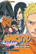 Naruto The Seventh Hokage and the Scarlet Spring Manga