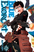 Blue Exorcist Manga Volume 15