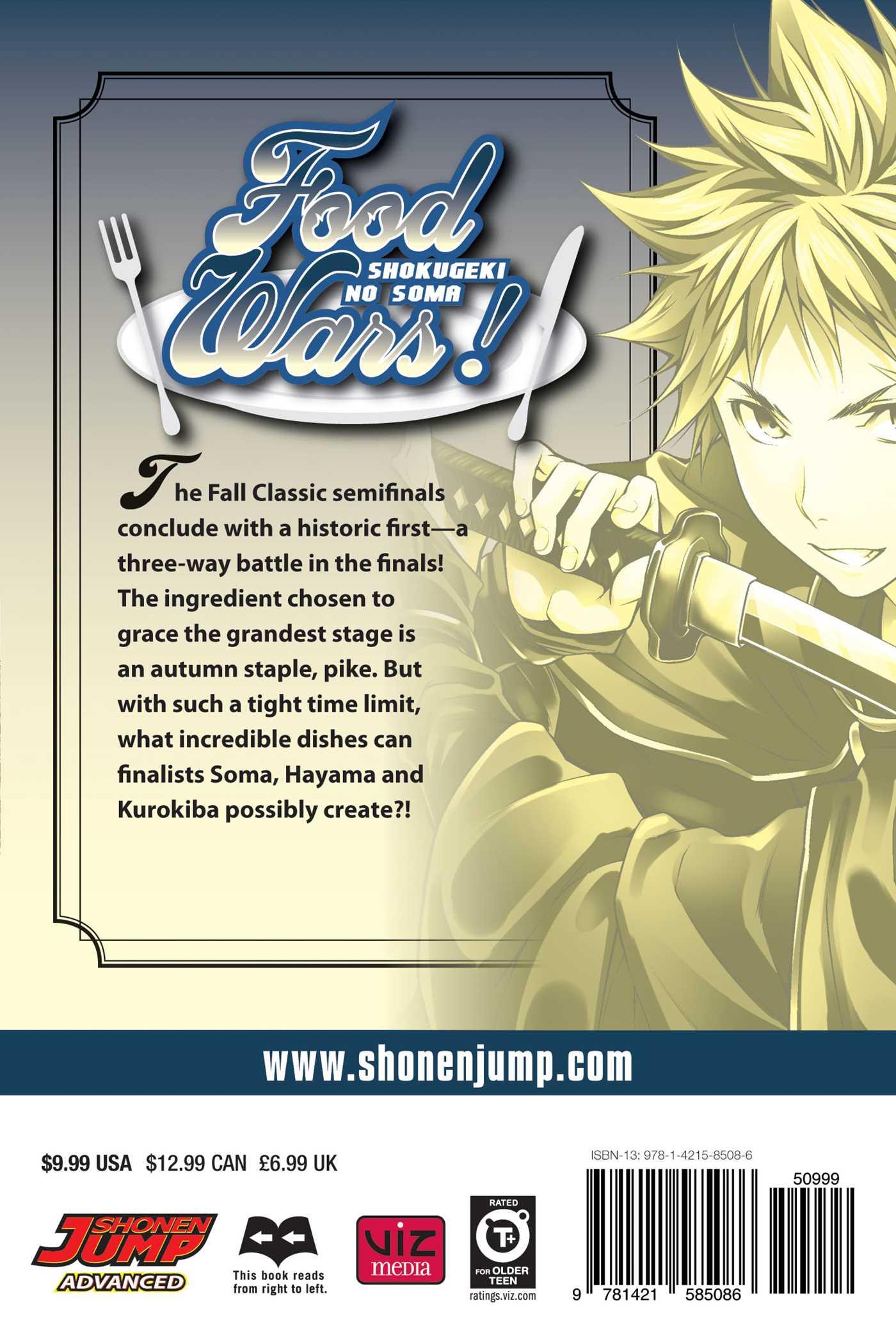 Food Wars! Manga Volume 12