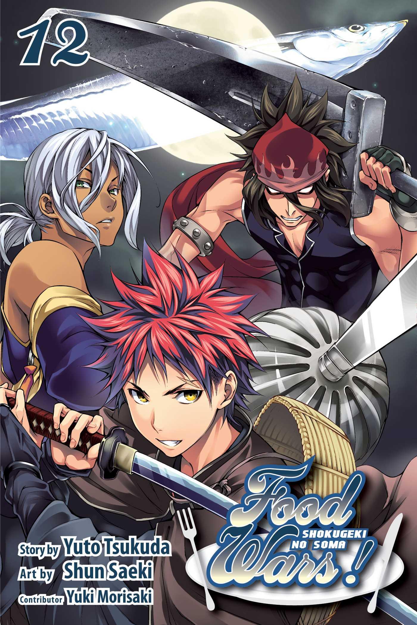 Food Wars Manga Volume 12
