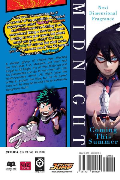 My Hero Academia Manga Volume 4