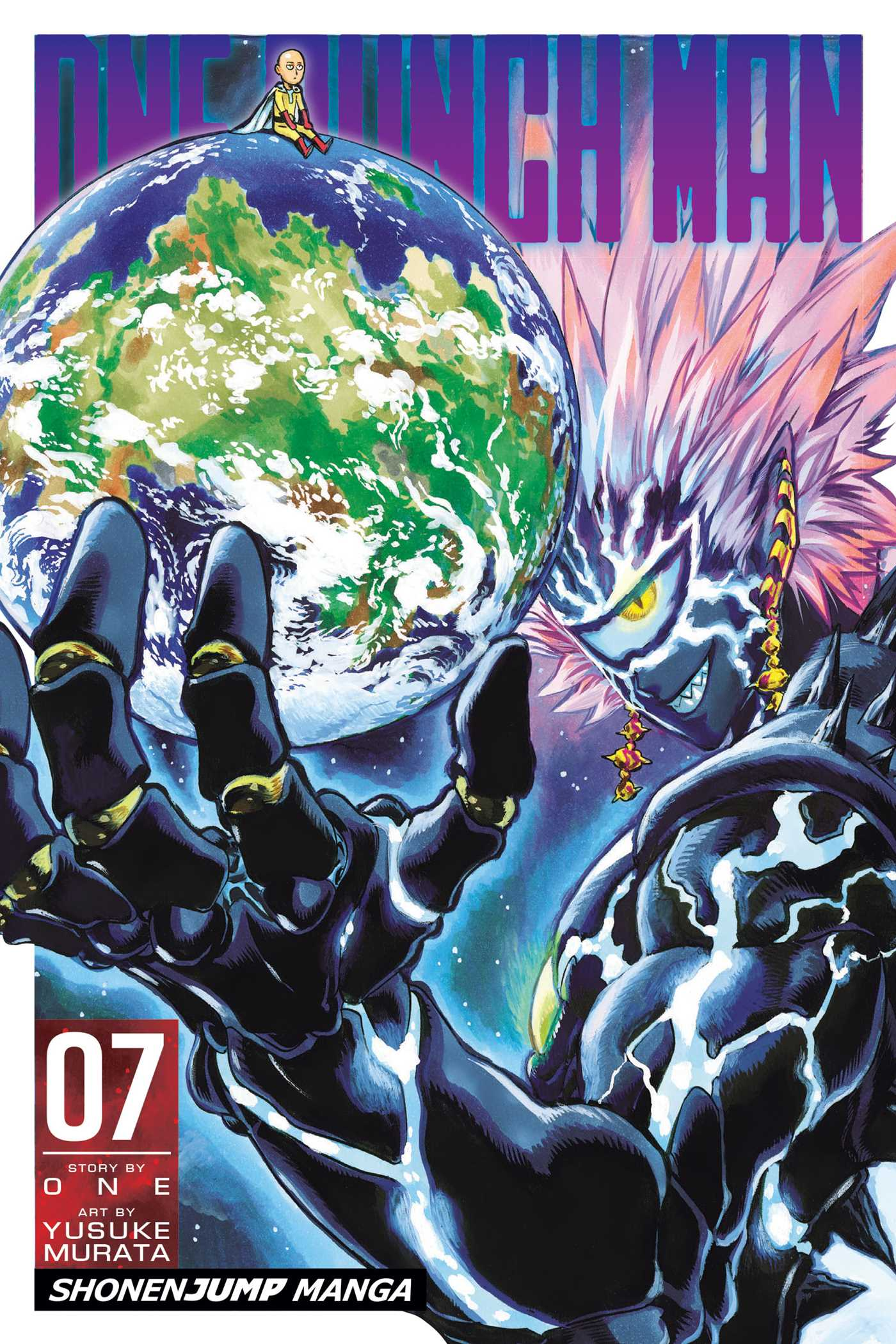 One Punch Man Manga Volume 7