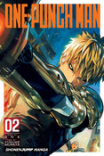 One-Punch Man Manga Volume 2