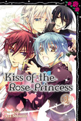 Kiss of the Rose Princess Manga Volume 9