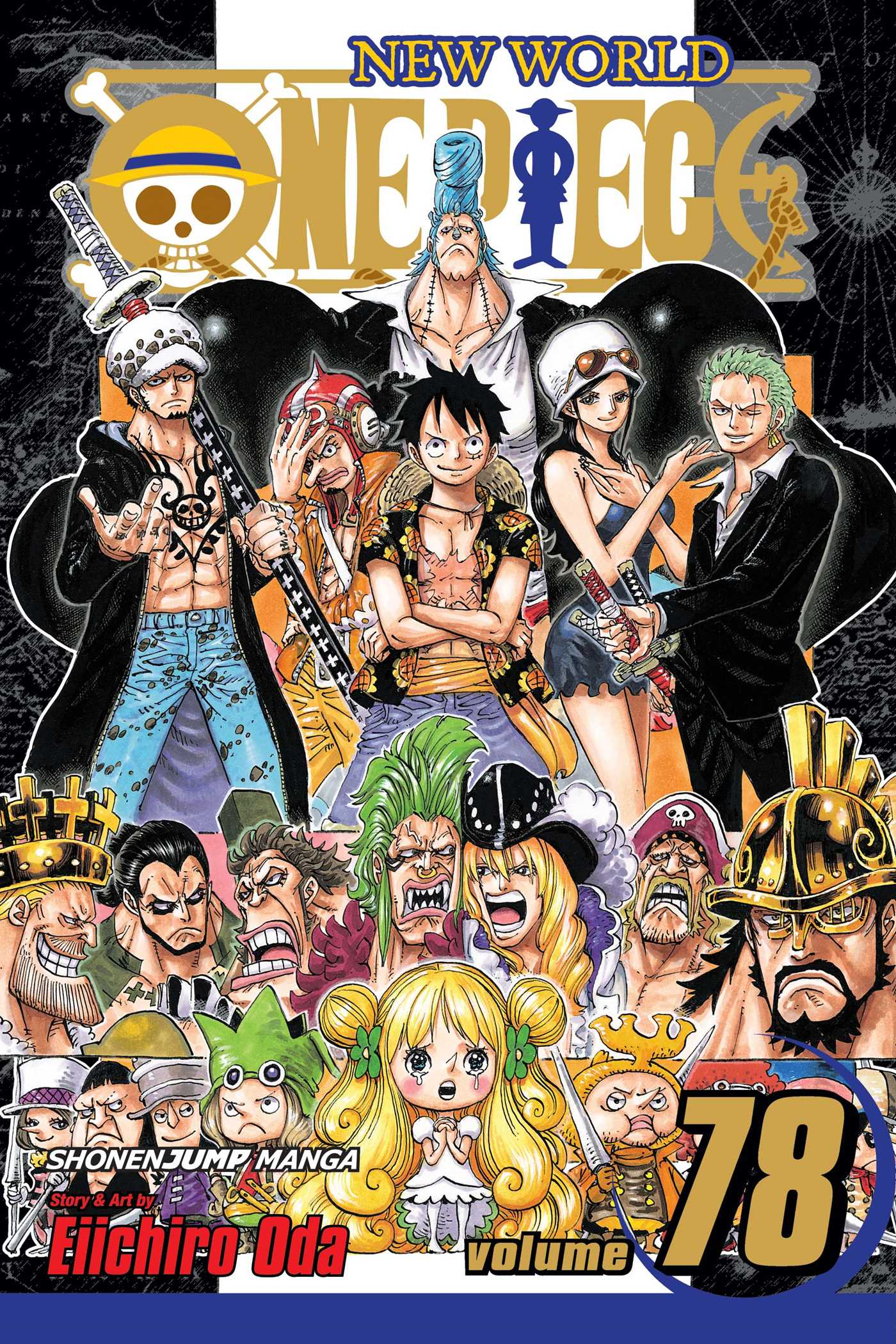 One Piece Manga Volume 78