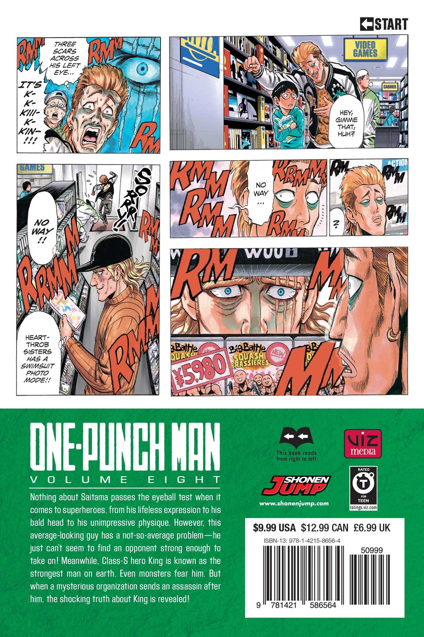One-Punch Man Manga Volume 8