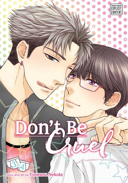 Don't Be Cruel 2 in 1 Edition Manga Volume 3-4