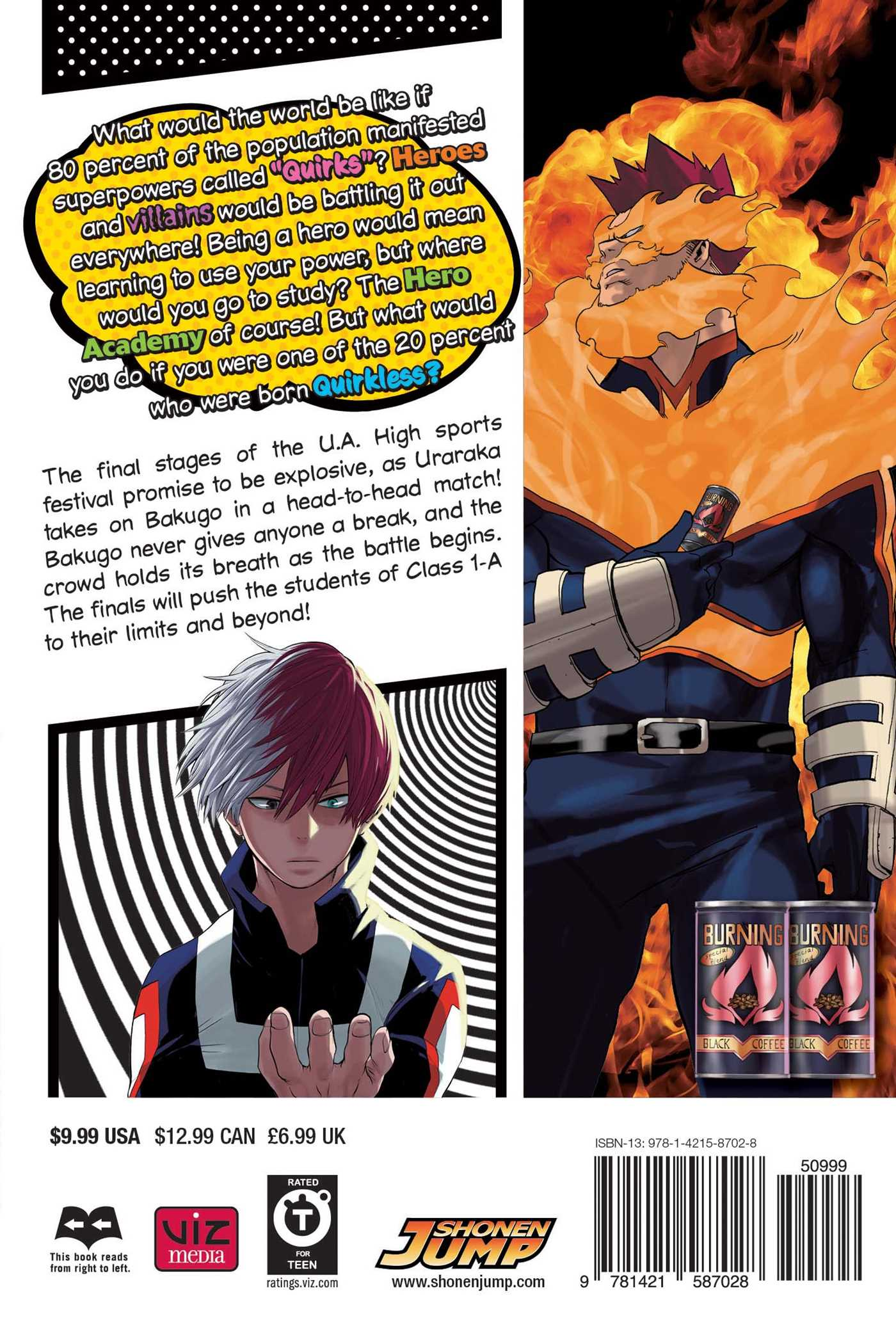 My Hero Academia Manga Volume 5