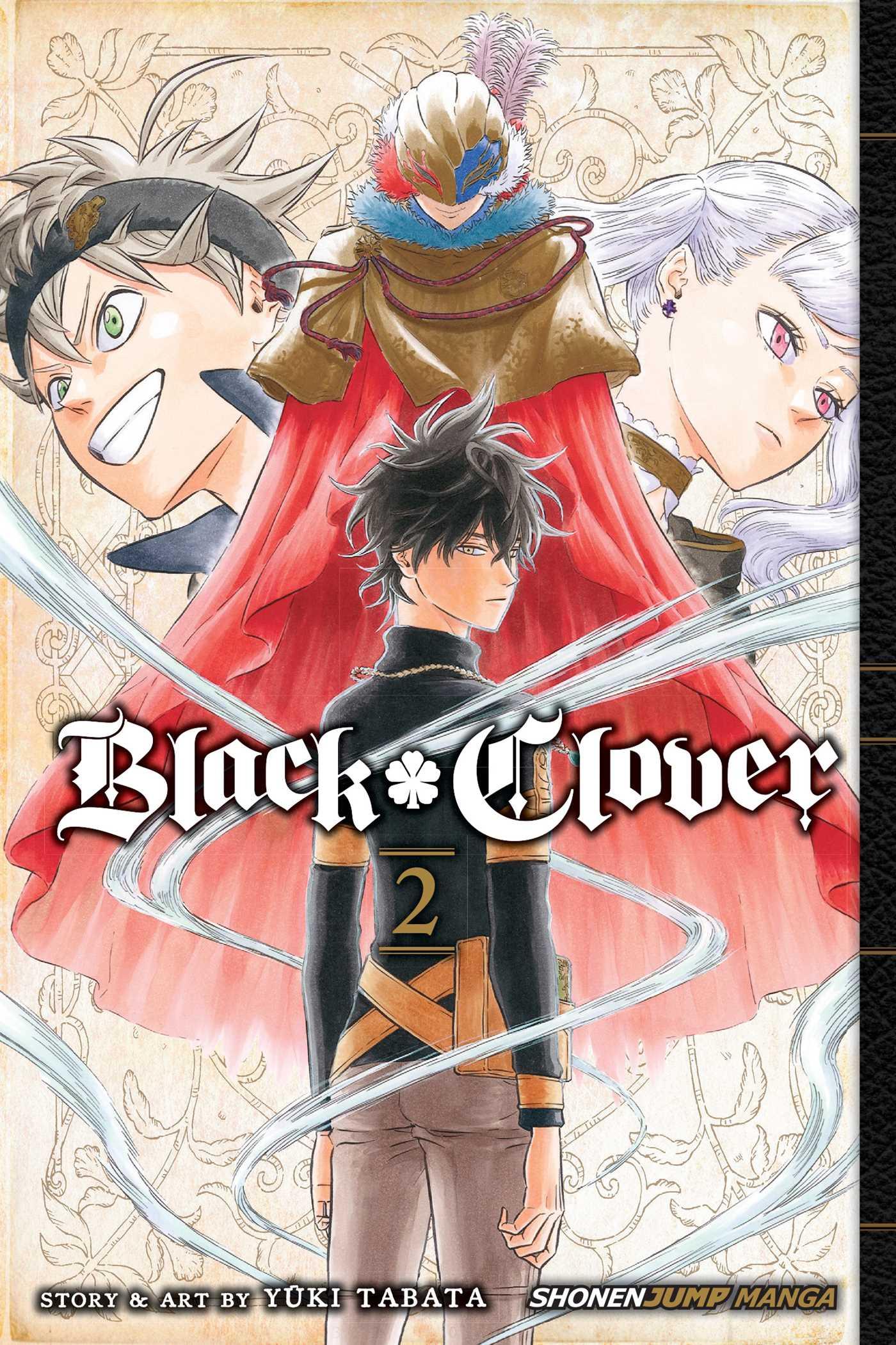 black clover manga free